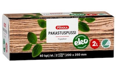 Pirkka Eko pakastuspussi 2l/40kpl