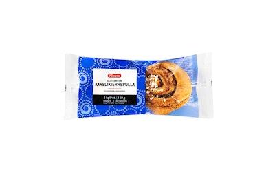 Pirkka gluteeniton kanelikierrepulla 2kpl/140g pakaste