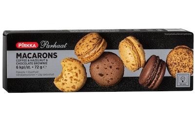 Pirkka Parhaat macarons 6kpl/72g pakaste