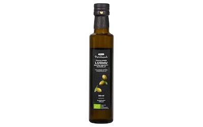 Pirkka Parhaat Luomu Italialainen ekstra-neitsytoliiviöljy 250ml suodattamaton