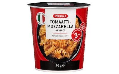 Pirkka Tomaatti-mozzarella Heatpot 70g