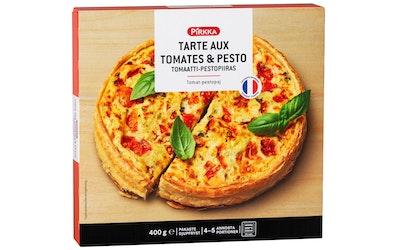 Pirkka Tarte aux Tomates-Pesto tomaatti-pestopiiras 400g pakaste