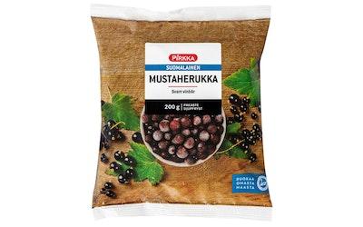 Pirkka suomalainen mustaherukka 200g pakaste