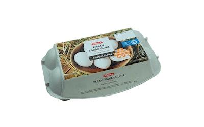 Pirkka vapaan kanan munia 8kpl/464g