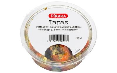 Pirkka Tapas tomaatit basilikamarinadissa 50g - kuva