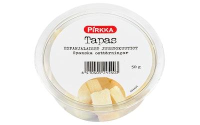 Pirkka Tapas espanjalaiset juustokuutiot 50g - kuva