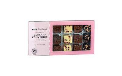 Pirkka Parhaat käsintehdyt  suklaakonvehdit 18 kpl 180g - kuva