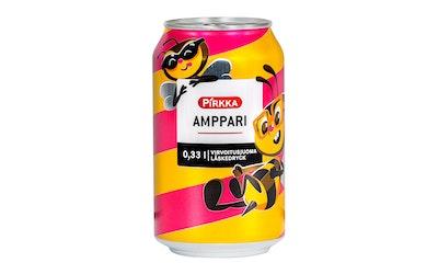 Pirkka Amppari mansikka-sitrus virvoitusjuoma 0,33l - kuva