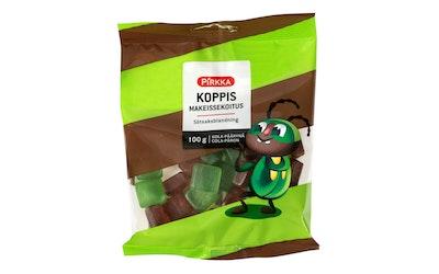 Pirkka Koppis makeissekoitus kola-päärynä 100g - kuva