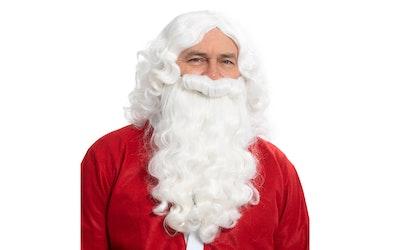 Joulupukin parta ja hiukset