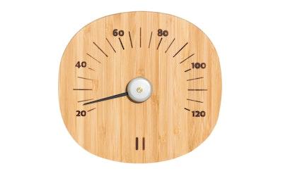 Rento saunan lämpömittari bambu - kuva