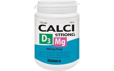 Calci Strong Mg D3 150tabl 220g