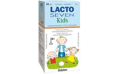 Lacto Seven Kids 50tabl 28g maitohappobakteeri