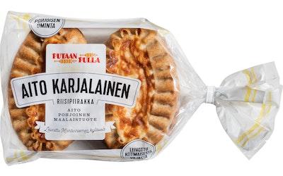 PutaanPulla Aito Karjalainen Riisipiirakka 400g riisipiirakka