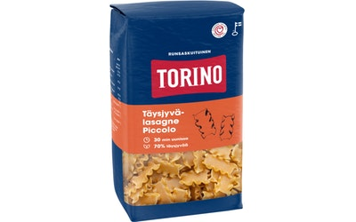 Torino täysjyvä lasagne piccolo 400 g