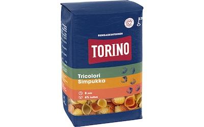 Torino tricolori simpukka pasta 425 g