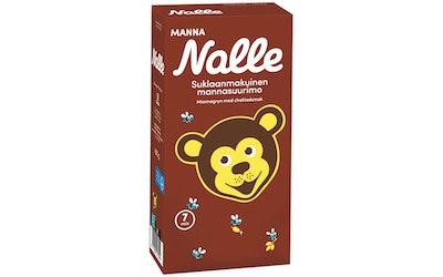 Nalle Manna suklaanmakuisia mannasuurimoita 600 g
