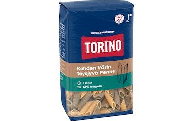 Torino kahden värin täysjyväpenne pasta 500 g