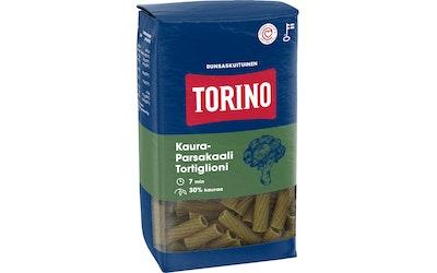 Torino kaura-parsakaalipasta - tortiglioni 400g