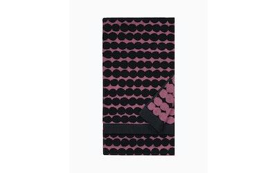 Marimekko kylpypyyhe Räsymatto sangrianpunainen - kuva