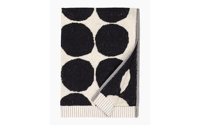 Marimekko Pienet Kivet käsipyyhe 50 x 70 cm musta - kuva