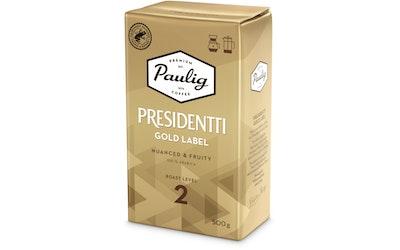 Presidentti kahvi 500g gold label hj