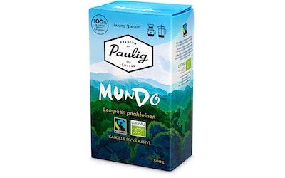 Paulig Mundo kahvi 500g sj