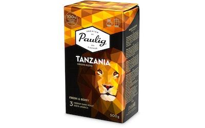 Paulig kahvi 500g Tanzania origins blend hienojauhatus