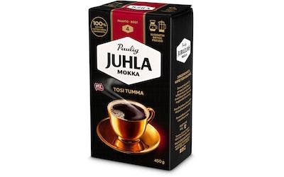 Juhla Mokka kahvi 450g tosi tumma hj UTZ