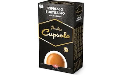Paulig Cupsolo espresso 16kap Fortissimo