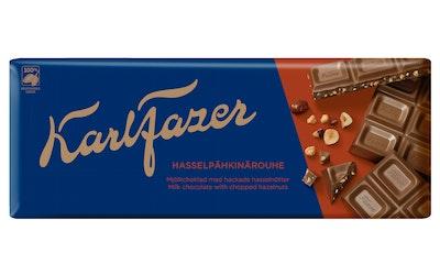 Fazer Hasselpähkinärouhe suklaalevy 200g