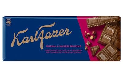 Fazer Pähkinä-rusina suklaalevy 200g