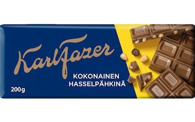 Fazer Hasselpähkinä suklaalevy 200g
