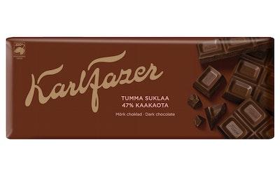 Fazer Tumma suklaa suklaalevy 200g