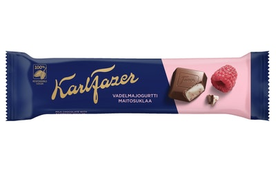 Fazer Vadelmajogurtti suklaapatukka 37g