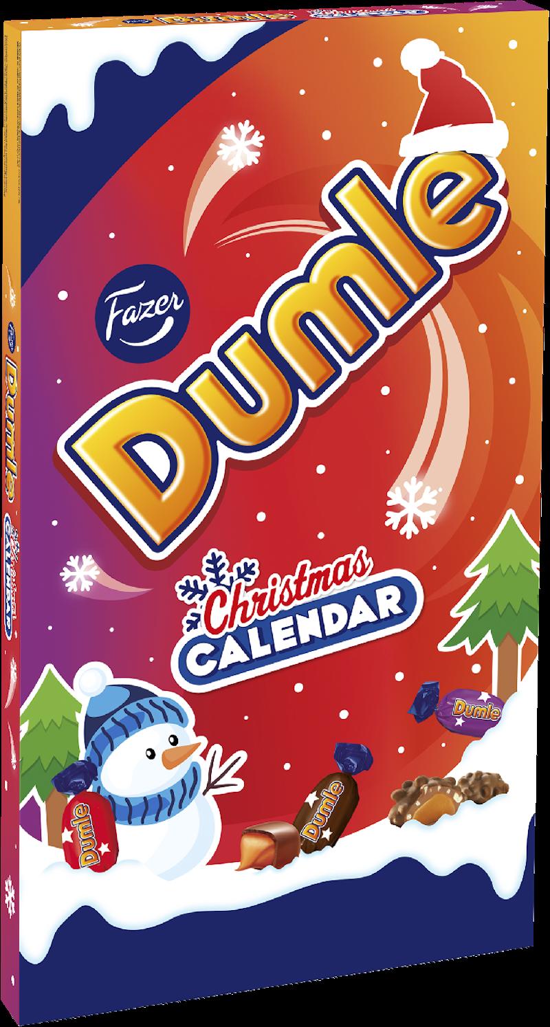 dumle joulukalenteri 2018 Dumle Joulukalenteri 210g – K Ruoka dumle joulukalenteri 2018