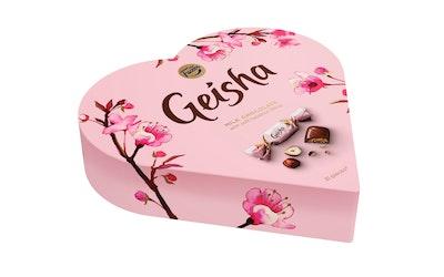 Geisha Sydän rasia 225g