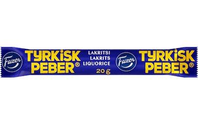 Tyrkisk Peber lakritsi 20g