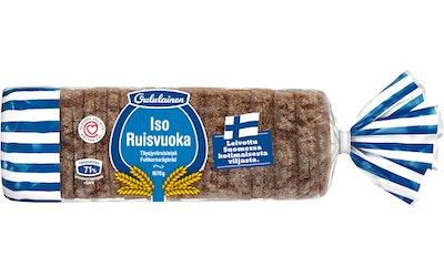 Oululainen Iso Ruisvuoka 1070 g täysjyväruisleipä