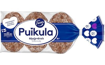 Fazer Puikula Täysjyväruis 9 kpl/500 g