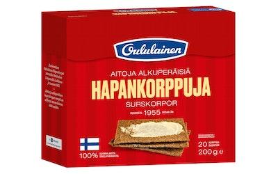 Oululainen Hapankorppu 200 g