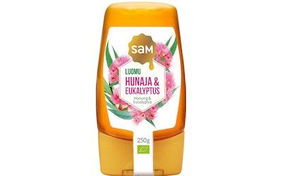 SAM aroma hunaja 250g eukalyptus luomu