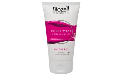 Biozell Color Mask 150ml raspberry hoitava hiussävyte