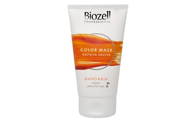 Biozell Color Mask 150ml Mandarin hoitava hiussävyte