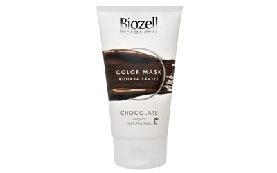 Biozell Color Mask sävyte 150ml Chocolate hoitava hiussävyte