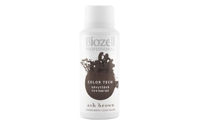 Biozell Color Tech sävyttävä tyvispray 100ml Ash Brown