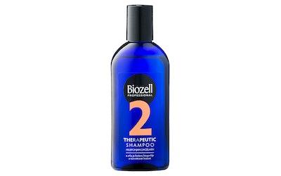 Biozell Therapeutic 2 shampoo 200ml rasvoittuville hiuksille
