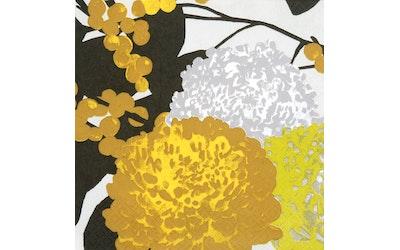 Pentik liina 20kpl/33cm Krysanteemi keltainen