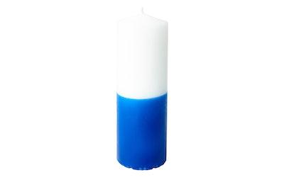 Havi pöytäkynttilä 6cmx18cm itsenäisyys sini-valkoinen 55h