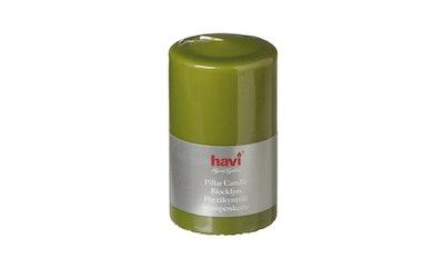 Havi pöytäkynttilä 70x120 oliivi